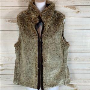 VINTAGE GAP~ Reversible Vest. Medium